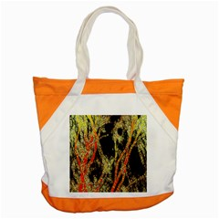 Artistic Effect Fractal Forest Background Accent Tote Bag