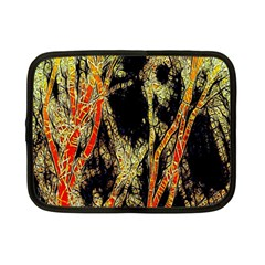 Artistic Effect Fractal Forest Background Netbook Case (small)