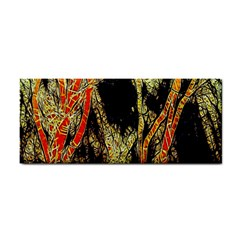 Artistic Effect Fractal Forest Background Cosmetic Storage Cases
