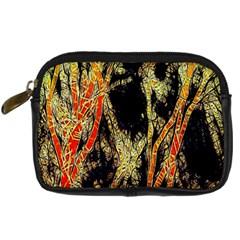 Artistic Effect Fractal Forest Background Digital Camera Cases