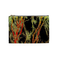 Artistic Effect Fractal Forest Background Cosmetic Bag (medium)