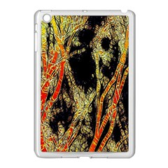 Artistic Effect Fractal Forest Background Apple Ipad Mini Case (white)