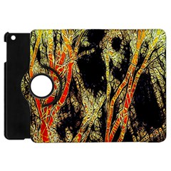 Artistic Effect Fractal Forest Background Apple Ipad Mini Flip 360 Case