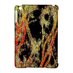 Artistic Effect Fractal Forest Background Apple Ipad Mini Hardshell Case (compatible With Smart Cover)