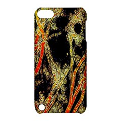 Artistic Effect Fractal Forest Background Apple Ipod Touch 5 Hardshell Case With Stand