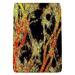 Artistic Effect Fractal Forest Background Flap Covers (L)
