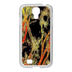 Artistic Effect Fractal Forest Background Samsung GALAXY S4 I9500/ I9505 Case (White)