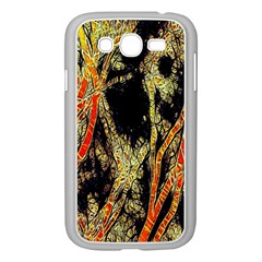 Artistic Effect Fractal Forest Background Samsung Galaxy Grand Duos I9082 Case (white)