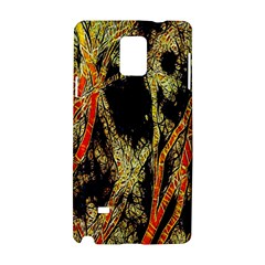 Artistic Effect Fractal Forest Background Samsung Galaxy Note 4 Hardshell Case