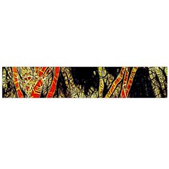 Artistic Effect Fractal Forest Background Flano Scarf (large)