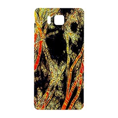 Artistic Effect Fractal Forest Background Samsung Galaxy Alpha Hardshell Back Case