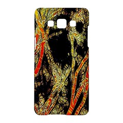 Artistic Effect Fractal Forest Background Samsung Galaxy A5 Hardshell Case