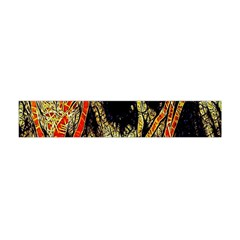 Artistic Effect Fractal Forest Background Flano Scarf (mini)