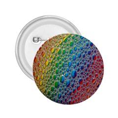 Bubbles Rainbow Colourful Colors 2 25  Buttons