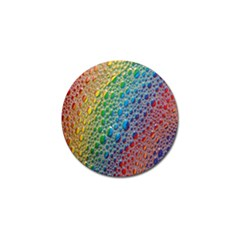 Bubbles Rainbow Colourful Colors Golf Ball Marker (10 pack)