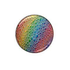 Bubbles Rainbow Colourful Colors Hat Clip Ball Marker (4 Pack)