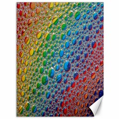 Bubbles Rainbow Colourful Colors Canvas 36  x 48