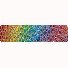 Bubbles Rainbow Colourful Colors Large Bar Mats