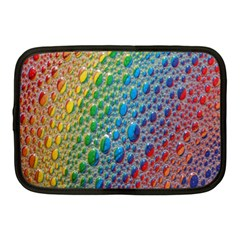 Bubbles Rainbow Colourful Colors Netbook Case (medium)