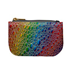 Bubbles Rainbow Colourful Colors Mini Coin Purses