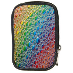 Bubbles Rainbow Colourful Colors Compact Camera Cases