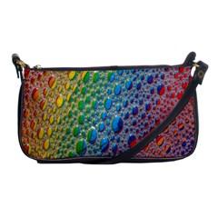 Bubbles Rainbow Colourful Colors Shoulder Clutch Bags