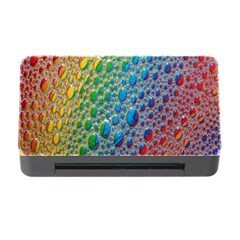 Bubbles Rainbow Colourful Colors Memory Card Reader With Cf