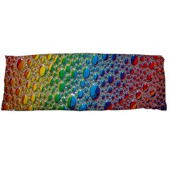 Bubbles Rainbow Colourful Colors Body Pillow Case (dakimakura)