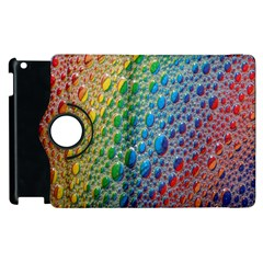 Bubbles Rainbow Colourful Colors Apple Ipad 3/4 Flip 360 Case