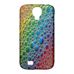 Bubbles Rainbow Colourful Colors Samsung Galaxy S4 Classic Hardshell Case (pc+silicone)