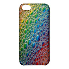 Bubbles Rainbow Colourful Colors Apple Iphone 5c Hardshell Case