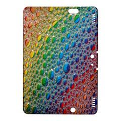 Bubbles Rainbow Colourful Colors Kindle Fire Hdx 8 9  Hardshell Case