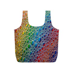 Bubbles Rainbow Colourful Colors Full Print Recycle Bags (s)