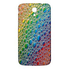 Bubbles Rainbow Colourful Colors Samsung Galaxy Mega I9200 Hardshell Back Case