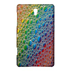Bubbles Rainbow Colourful Colors Samsung Galaxy Tab S (8.4 ) Hardshell Case