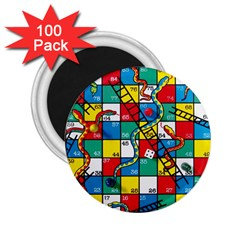 Snakes And Ladders 2.25  Magnets (100 pack)