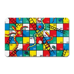 Snakes And Ladders Magnet (rectangular)