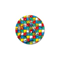 Snakes And Ladders Golf Ball Marker