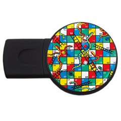 Snakes And Ladders USB Flash Drive Round (1 GB)