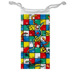 Snakes And Ladders Jewelry Bag