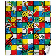 Snakes And Ladders Canvas 8  X 10