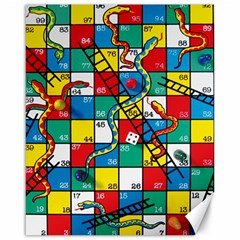 Snakes And Ladders Canvas 16  x 20