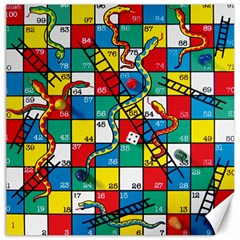 Snakes And Ladders Canvas 20  X 20