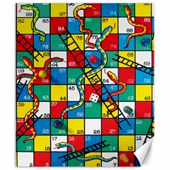 Snakes And Ladders Canvas 20  x 24