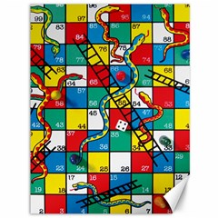 Snakes And Ladders Canvas 36  X 48