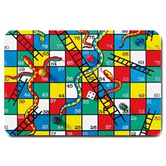 Snakes And Ladders Large Doormat
