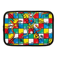 Snakes And Ladders Netbook Case (medium)