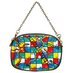 Snakes And Ladders Chain Purses (two Sides)