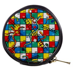 Snakes And Ladders Mini Makeup Bags