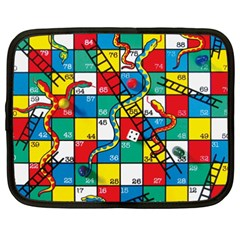 Snakes And Ladders Netbook Case (XXL)